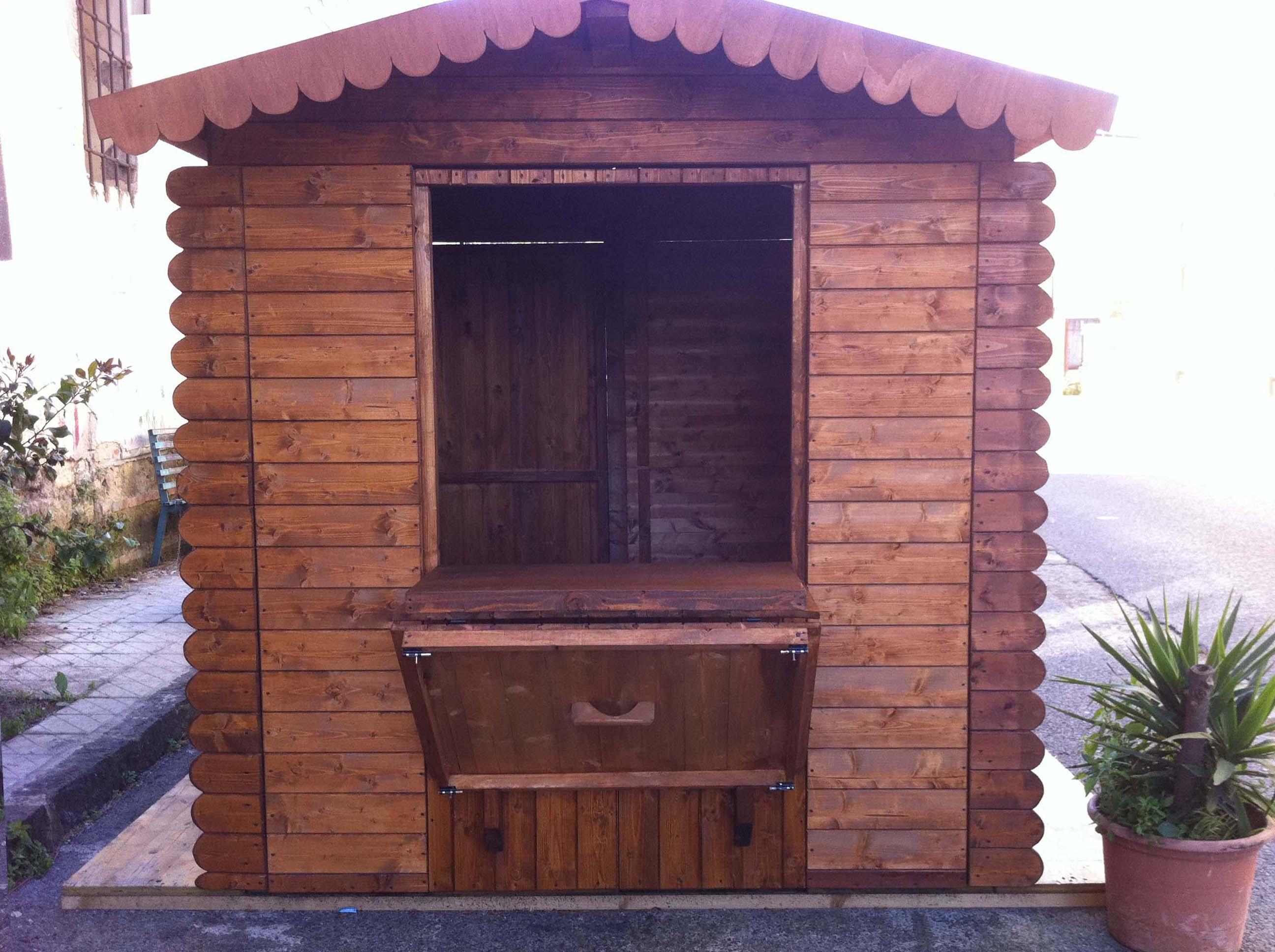 casette di legno singola