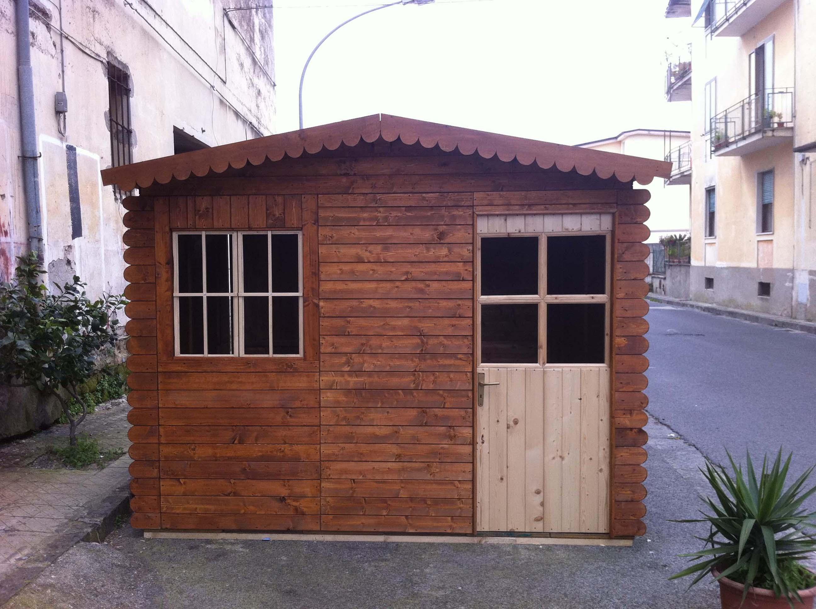 casette di legno luminarie