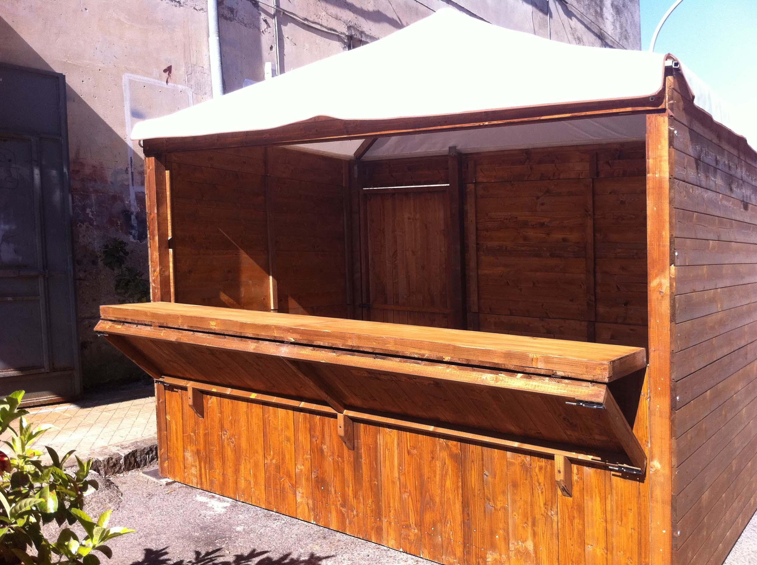 casette di legno led