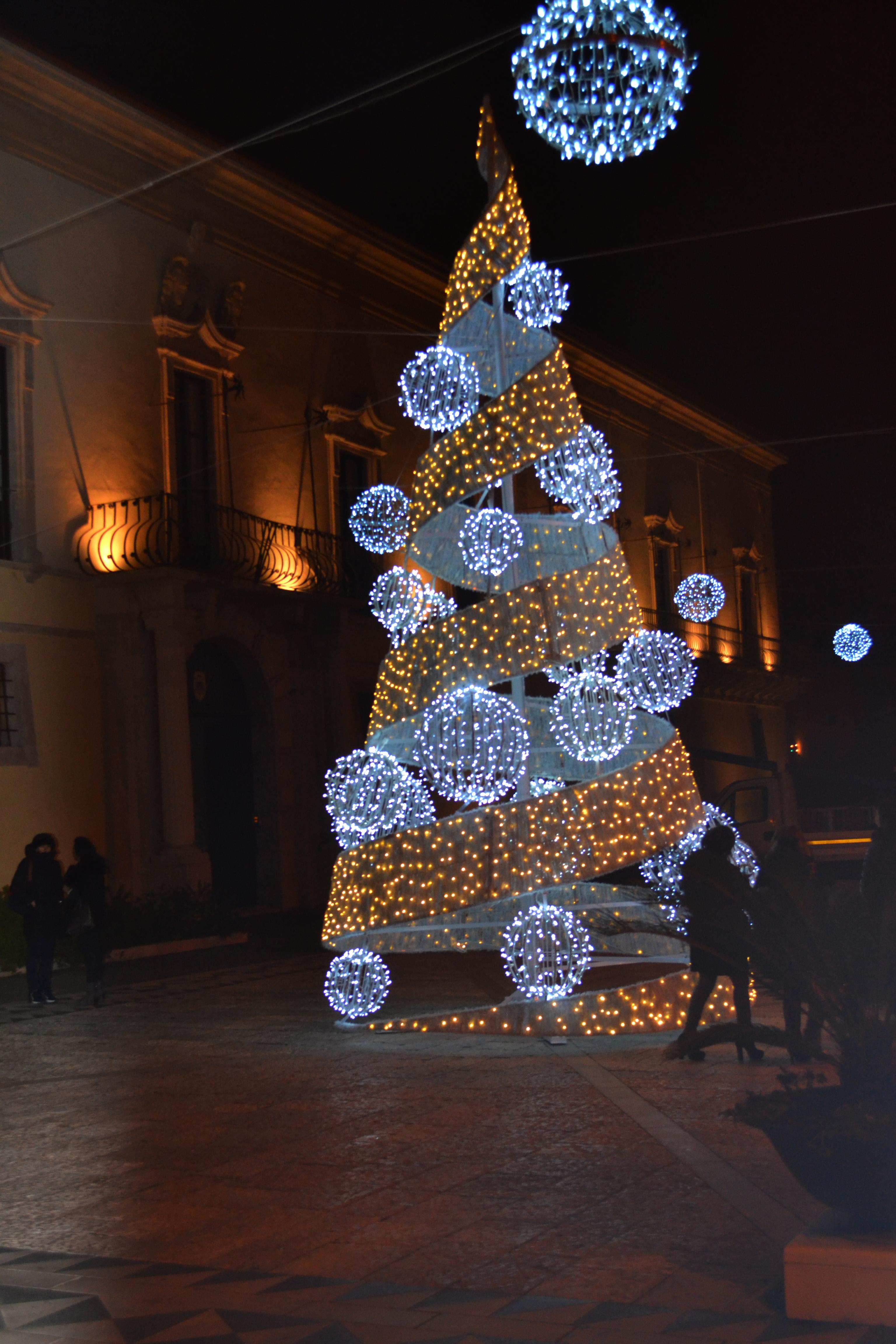 luminarie alberi di natale ditta napoli