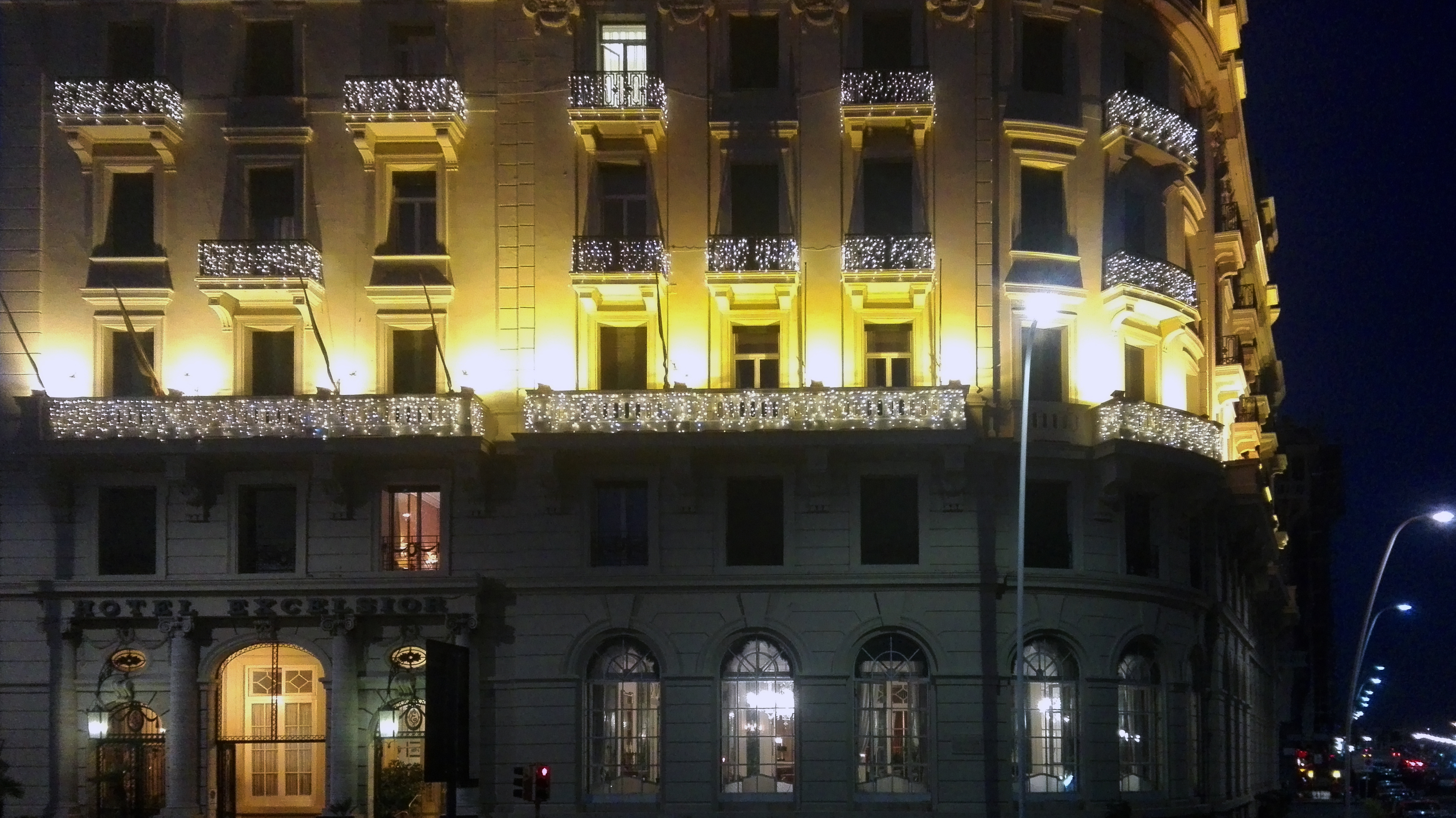luminarie hotel excelsior