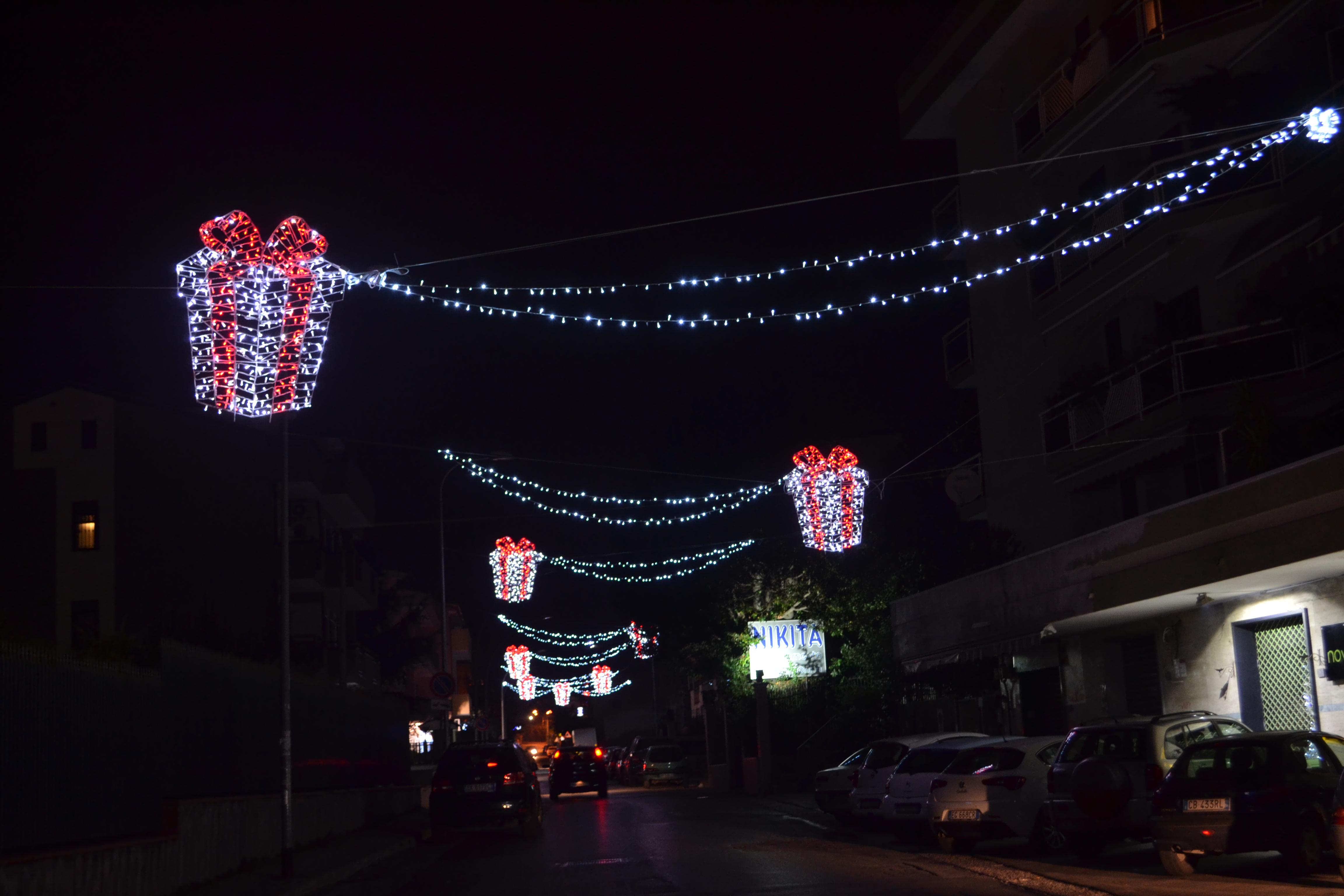 pacchetti luminarie strada