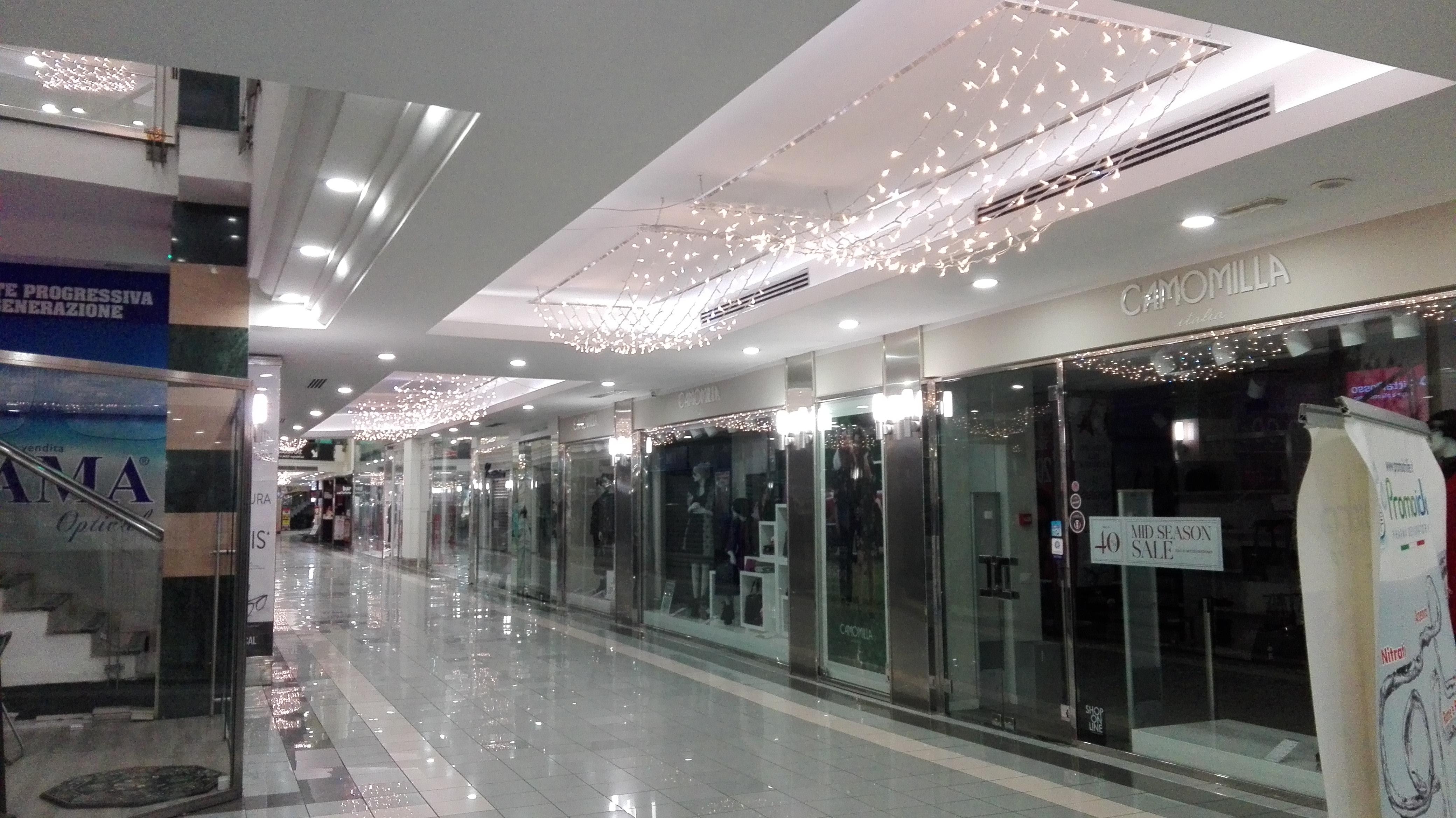 lampadario luminarie centro