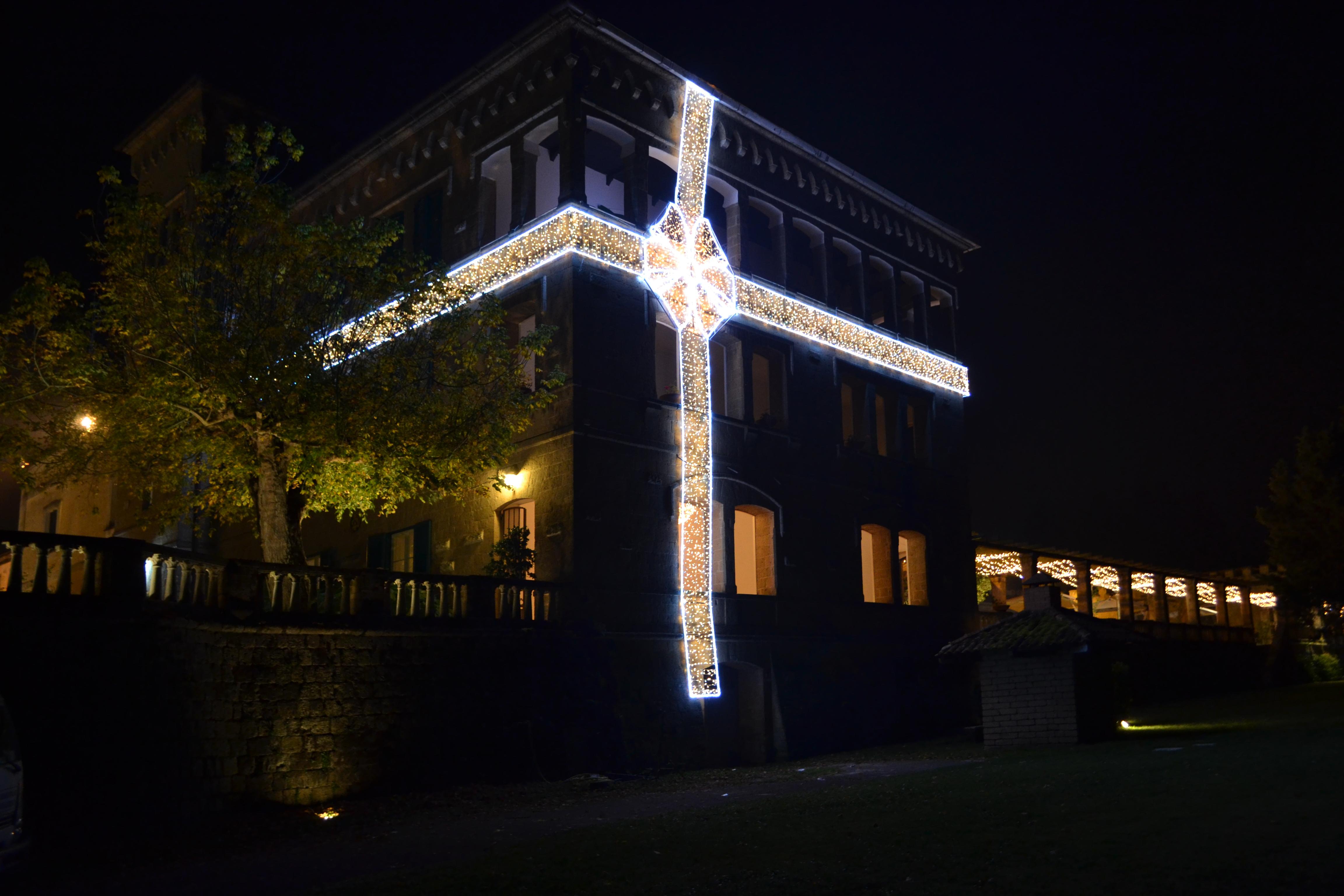 luminarie fiocchi caserta