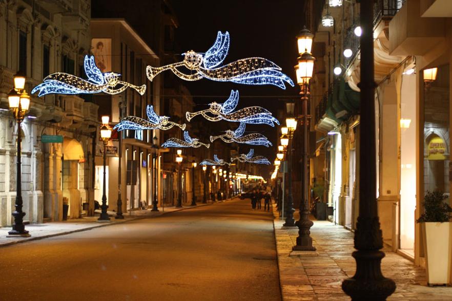 angeli strada luminarie caserta