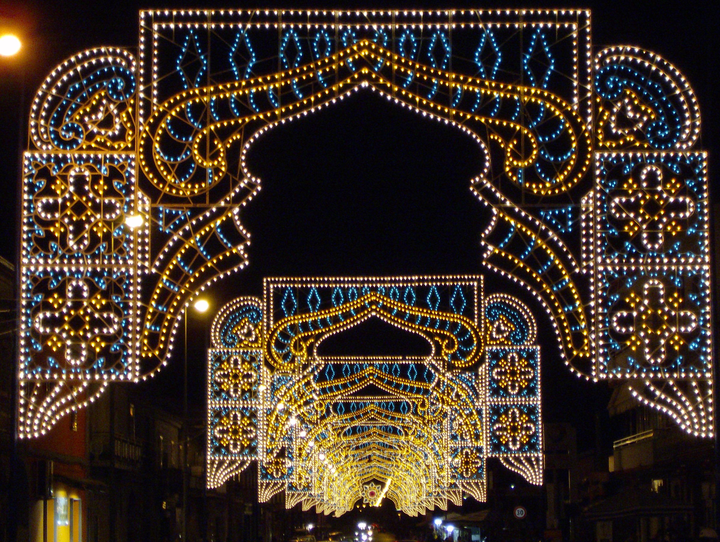 addobbi natalizi caserta feste di paese