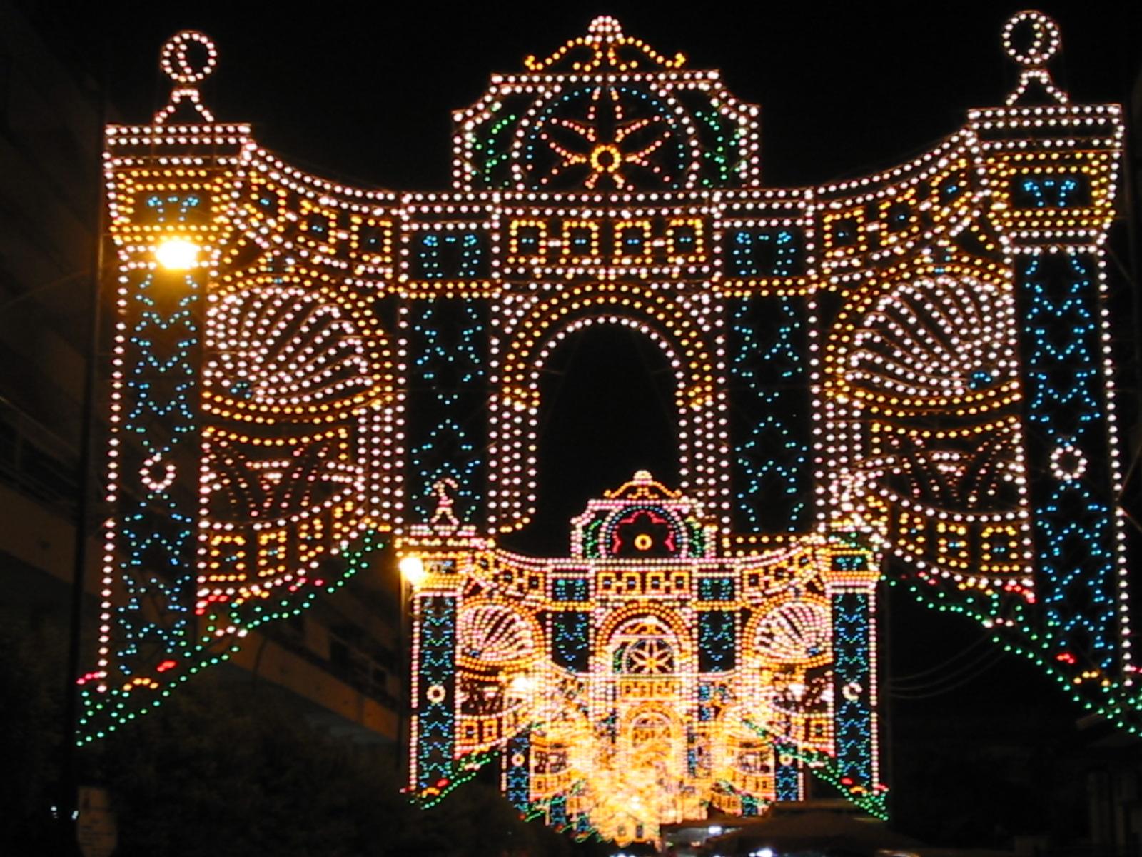 addobbi natalizi caserta feste paesane
