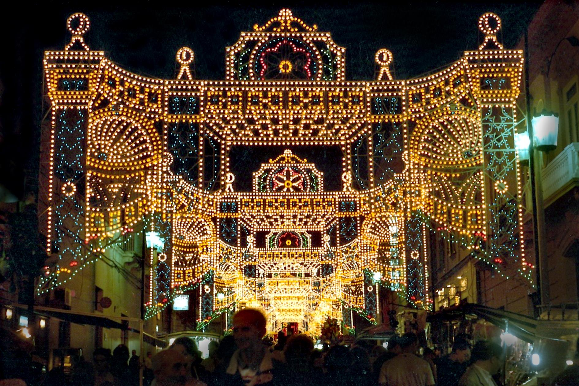 addobbi natalizi caserta feste patronali