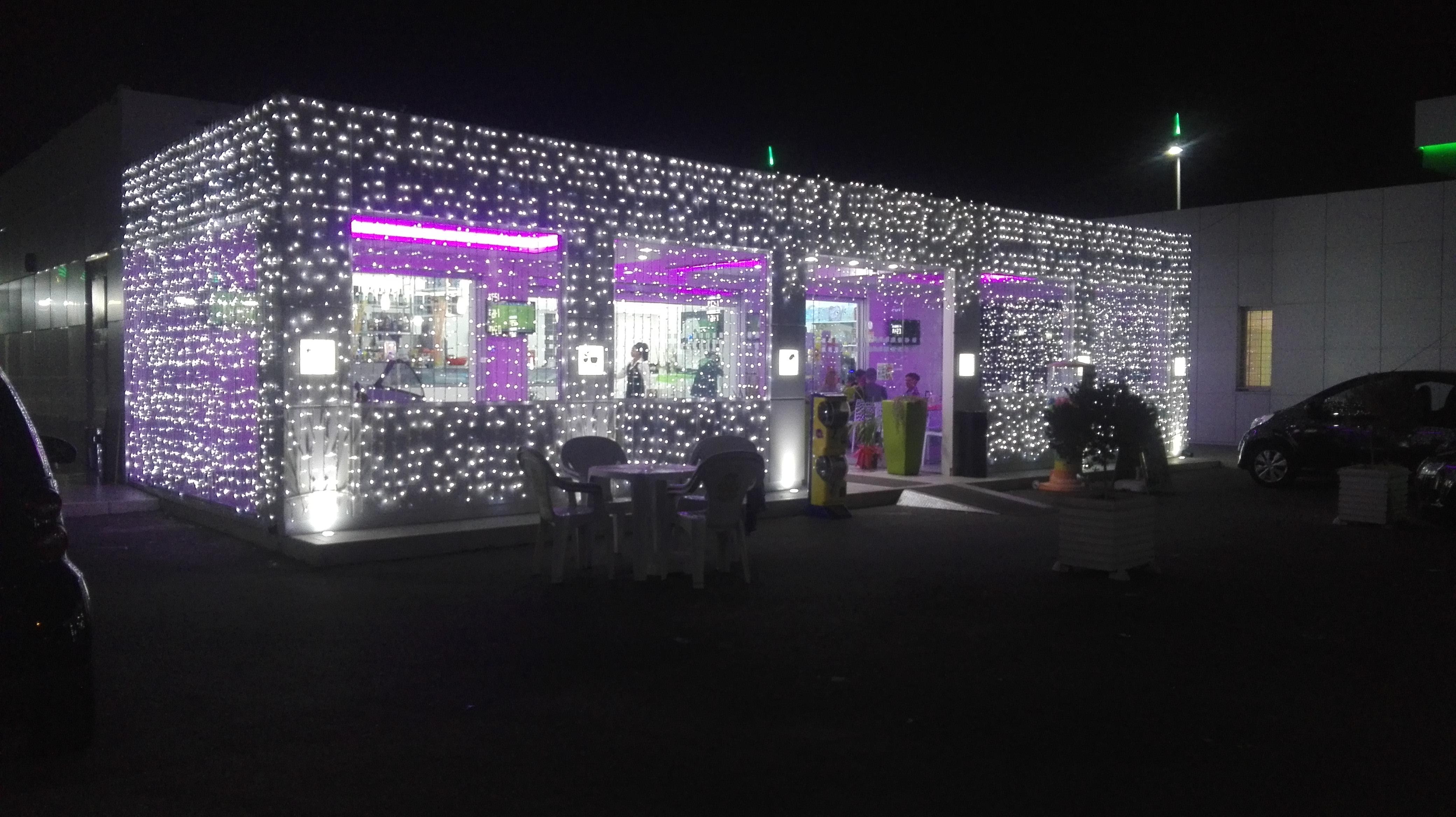 tenda luminarie led caserta artistiche