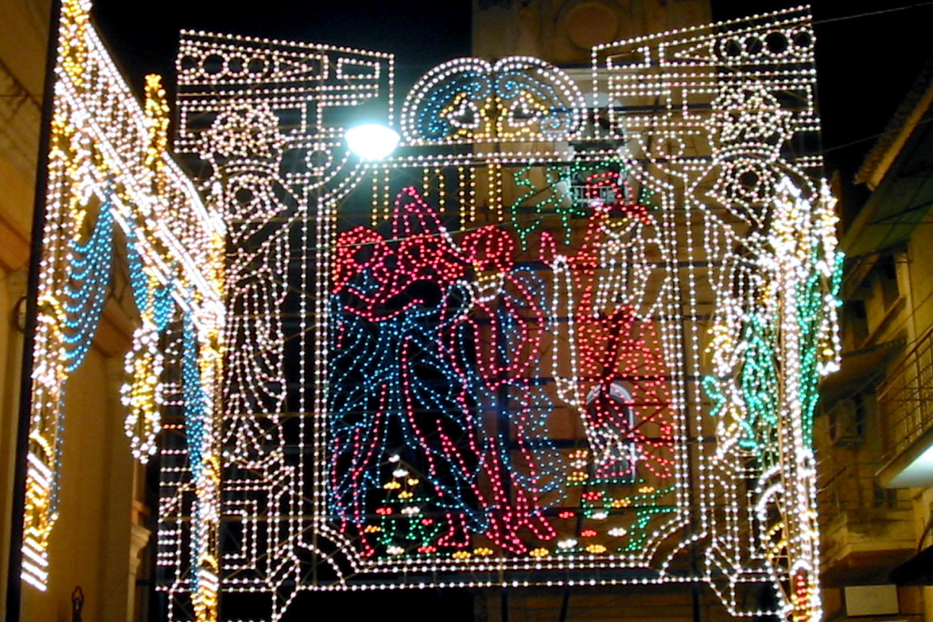 storia luminarie artistiche caserta