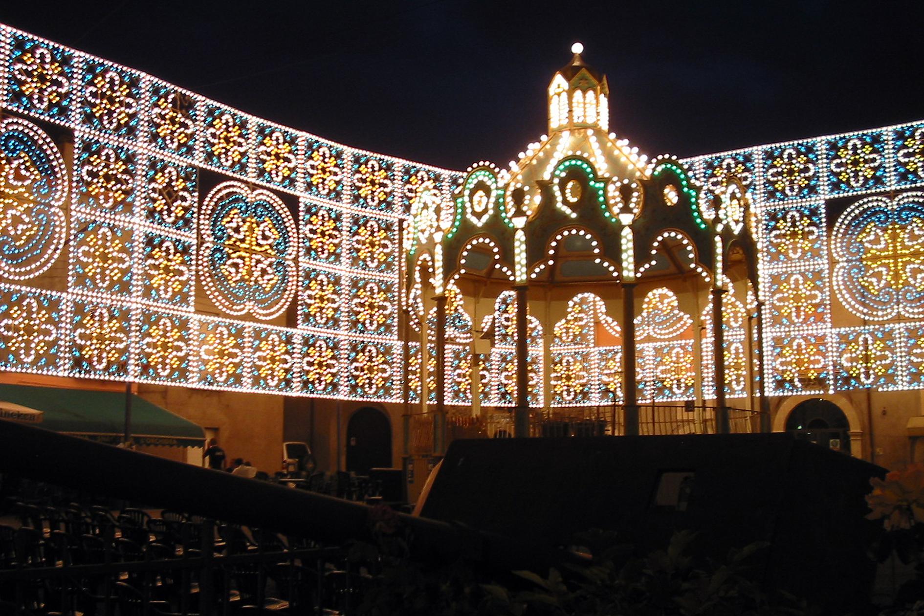 luminarie napoli festa patronale